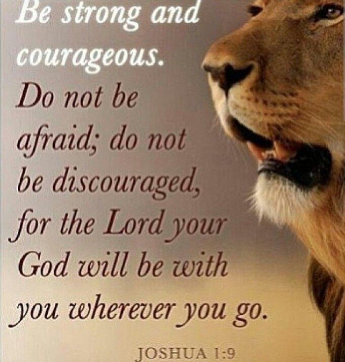 courage prayer